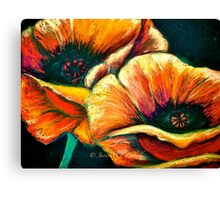 The Poppy Journals...The End of the Story Canvas Print
