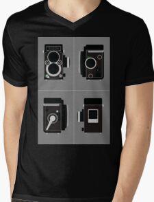 Rolleiflex Camera Mens V-Neck T-Shirt