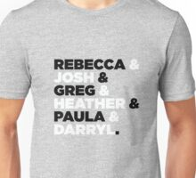 Crazy Ex-Girlfriend Crew  Unisex T-Shirt