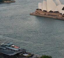 Australia - Sydney - Opera House at dusk Sticker