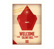 Red Pyramid - Silent Hill 2 Art Print