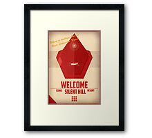 Red Pyramid - Silent Hill 2 Framed Print