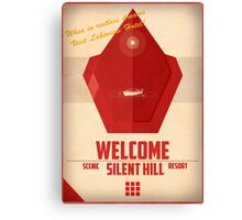 Red Pyramid - Silent Hill 2 Canvas Print