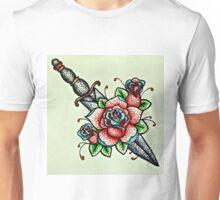 Rose Dagger  Unisex T-Shirt