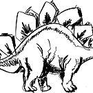 stegosaurus by Vana Shipton