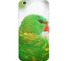 Scaly-Breasted Lorikeet iPhone Case/Skin