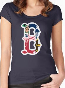 Boston Sports Pride Women's Fitted Scoop T-Shirt