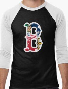 Boston Sports Pride Men's Baseball ¾ T-Shirt