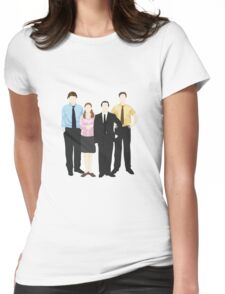 The Office Sticker Womens Fitted T-Shirt