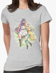 Hero and Bianca  Womens Fitted T-Shirt