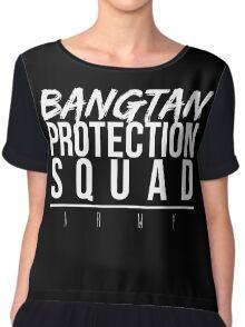Bangtan Protection Squad Women's Chiffon Top