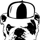 bulldog whirly hat by Vana Shipton