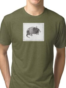 Graphic Armadillo Tri-blend T-Shirt