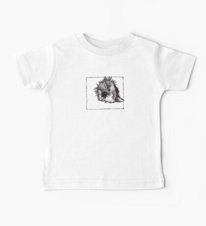 Graphic Porcupine Baby Tee
