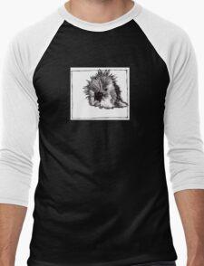 Graphic Porcupine Men's Baseball ¾ T-Shirt