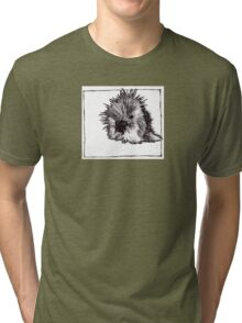Graphic Porcupine Tri-blend T-Shirt