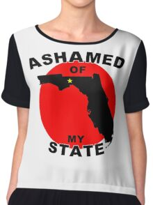 Ashamed Of My State- Florida Chiffon Top