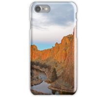 Smith Rock at Sunrise iPhone Case/Skin