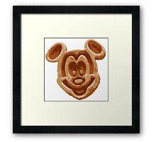 Mickey Waffle Framed Print