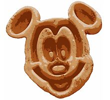 Mickey Waffle Photographic Print