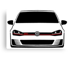 MK7 Golf GTI Front Canvas Print