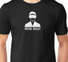 Virtual Realist - White Clean Unisex T-Shirt