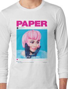Kylie Jenner for Paper Magazine Long Sleeve T-Shirt