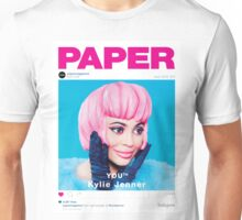 Kylie Jenner for Paper Magazine Unisex T-Shirt