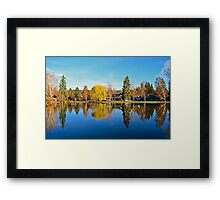 Drake Park Reflections at Sunrise Framed Print