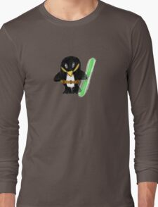 Jedi Penguin Long Sleeve T-Shirt