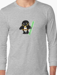 Jedi Penguin Long Sleeve T-Shirt