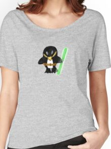Jedi Penguin Women's Relaxed Fit T-Shirt