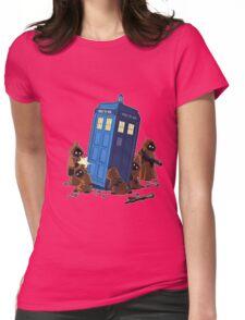 cartoon Womens Fitted T-Shirt