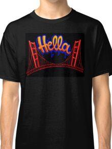 Hella - SF [Blue] Classic T-Shirt