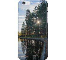 Drake Park Reflections at Sunrise II iPhone Case/Skin