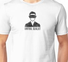 Virtual Realist - Black Dirty Unisex T-Shirt