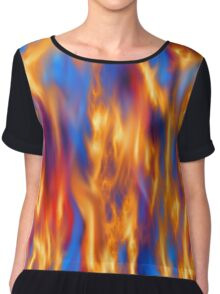 Torched Chiffon Top