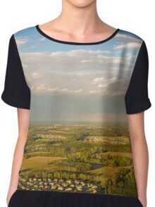 Helicopter View Chiffon Top