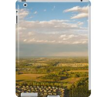 Helicopter View iPad Case/Skin