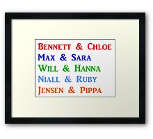 Beautiful Series Couples Framed Print