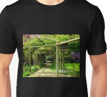 A perfect place to sit in Springtime! Unisex T-Shirt