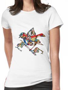 bird Womens Fitted T-Shirt