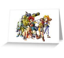 Chrono Trigger  Greeting Card