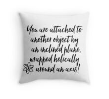 Screwed! - BBT Throw Pillow