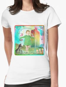 Rainbowland Womens Fitted T-Shirt