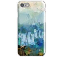 CIty scape iPhone Case/Skin
