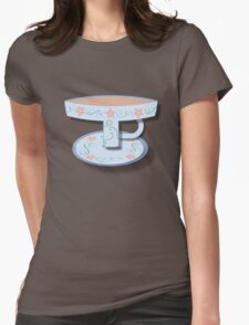T Cup Womens Fitted T-Shirt