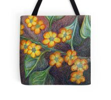 Yellow Petals Dance Tote Bag