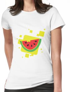 Juicy Watermelon Womens Fitted T-Shirt