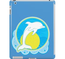 Dolphin Sun Yellow iPad Case/Skin